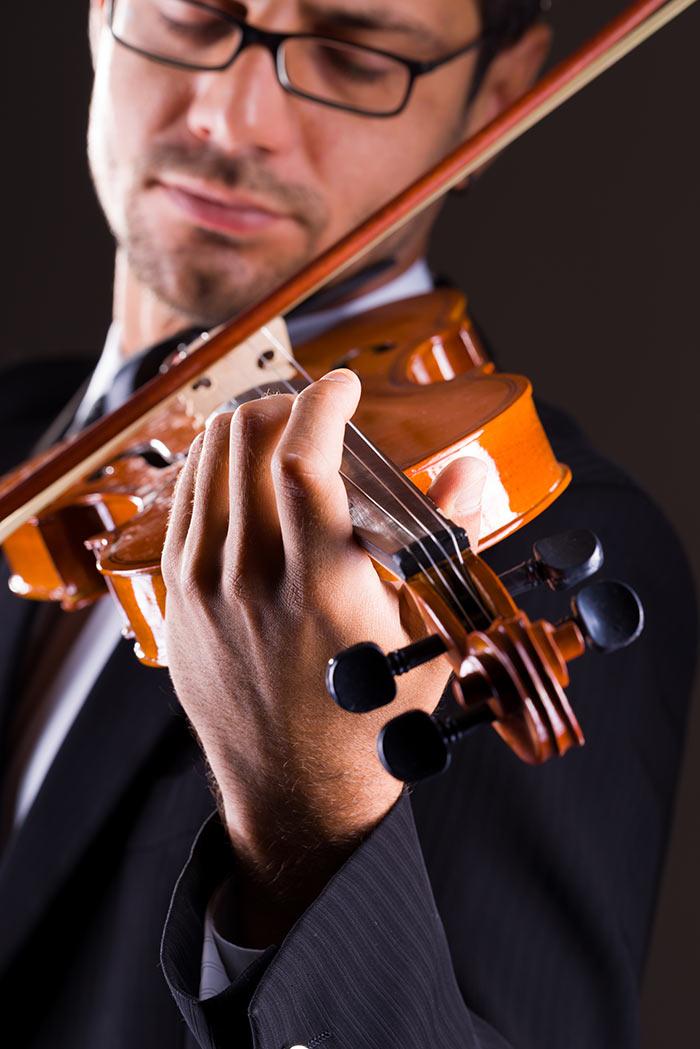 Platinum violin lesson gift voucher